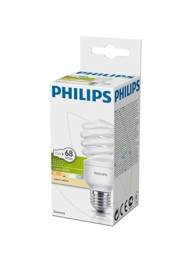 Philips Philips Economy Twister 15W Sarı Iş,RNKL Renkli